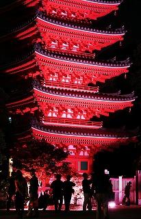 【入賞】光に彩られた塔の前で_江島昭子