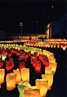 入選(博多の新たな魅力部門)_月とタワーと灯明と_今井康博